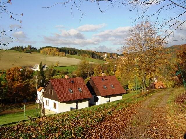 Vrijstaande Villa Starkov (CZ) herfst
